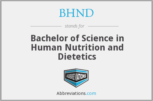 What does BHND stand for?