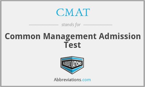 CMAT - Common Management Admission Test