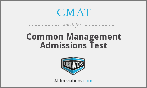CMAT - Common Management Admissions Test