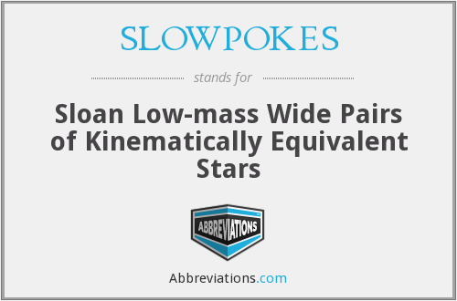 SLOWPOKES - Sloan Low-mass Wide Pairs of Kinematically Equivalent Stars
