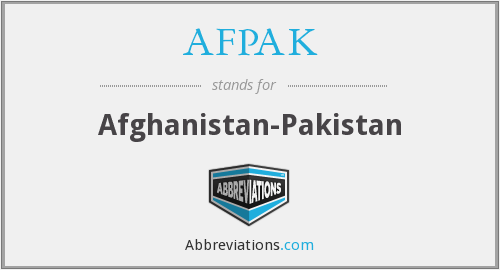 What does AFPAK stand for?