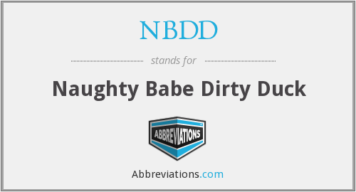 What does NBDD stand for?