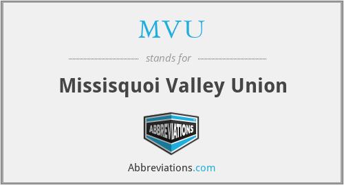 MVU - Missisquoi Valley Union