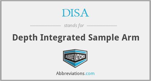DISA - Depth Integrated Sample Arm