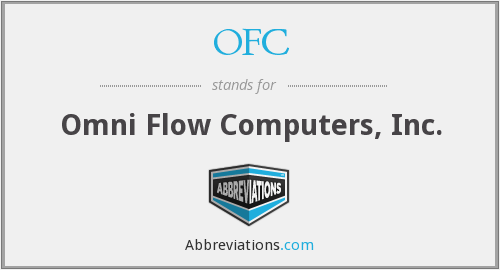 OFC - Omni Flow Computers, Inc.
