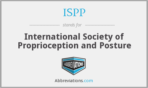 ISPP - International Society of Proprioception and Posture