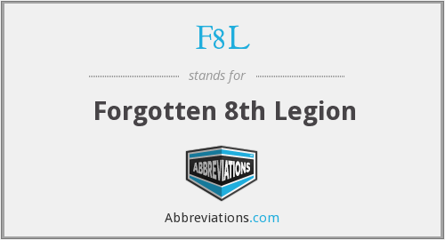 What does F8L stand for?