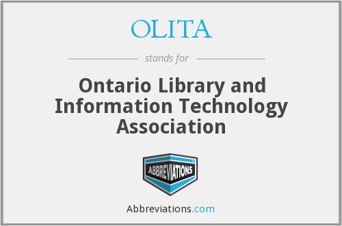 What does OLITA stand for?