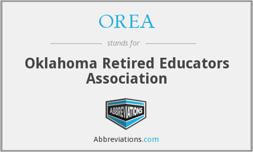 OREA - Oklahoma Retired Educators Association