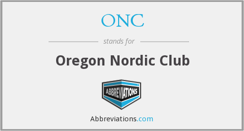 ONC - Oregon Nordic Club