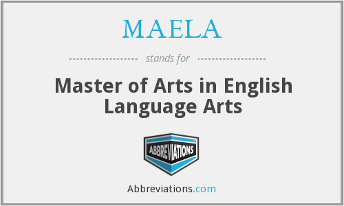 What does MAELA stand for?