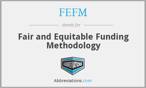What does FEFM stand for?