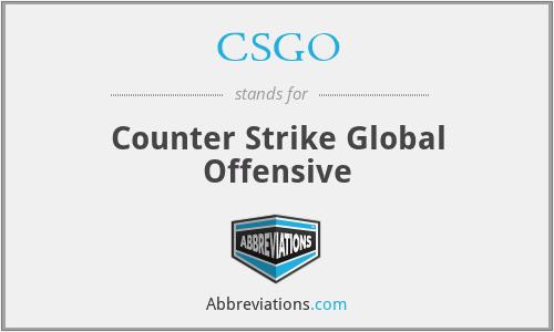 CSGO - Counter Strike Global Offensive