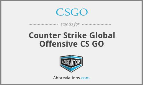 CSGO - Counter Strike Global Offensive CS GO