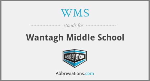 WMS - Wantagh Middle School