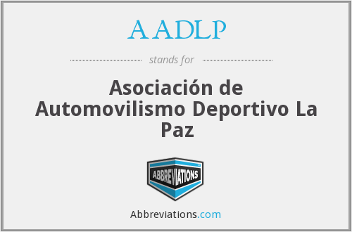 What does AADLP stand for?