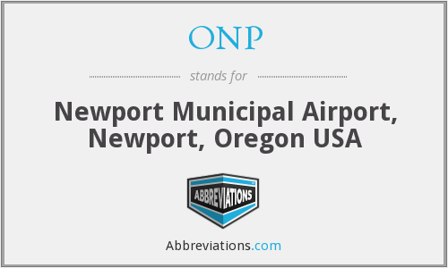 ONP - Newport Municipal Airport, Newport, Oregon USA