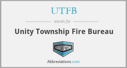 UTFB - Unity Township Fire Bureau