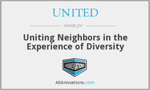 UNITED - Uniting Neighbors in the Experience of Diversity