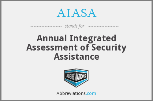 AIASA - Annual Integrated Assessment of Security Assistance