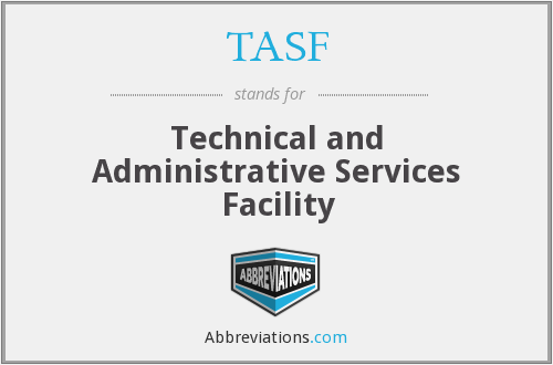 What does TASF stand for?