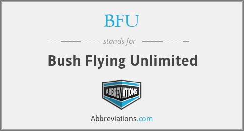 BFU - Bush Flying Unlimited