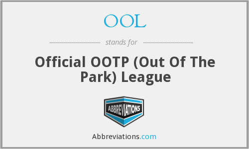 OOL - Official OOTP (Out Of The Park) League