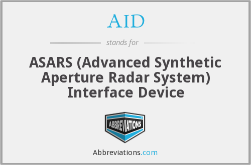 AID - ASARS Interface Device