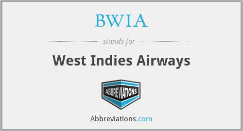 BWIA - West Indies Airways