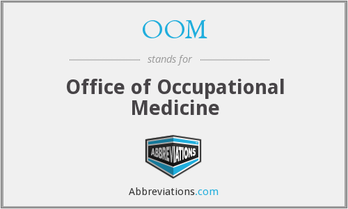 OOM - Office of Occupational Medicine