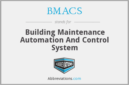 BMACS - Building Maintenance Automation And Control System