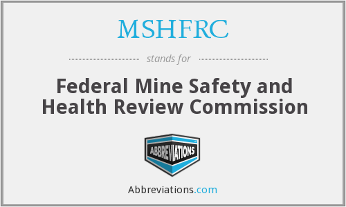 What does MSHFRC stand for?