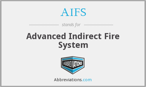 AIFS - Advanced Indirect Fire System