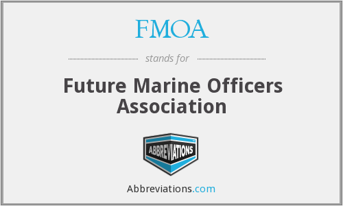 FMOA - Future Marine Officers Association