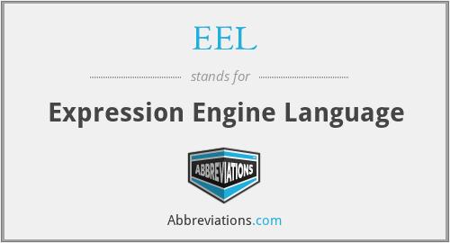 EEL - Expression Engine Language