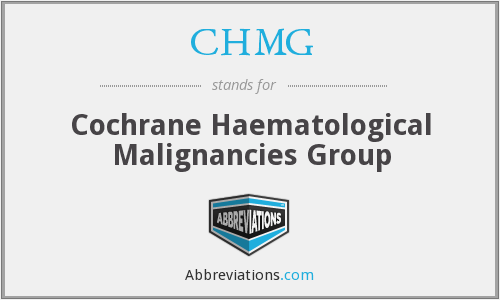 CHMG - Cochrane Haematological Malignancies Group