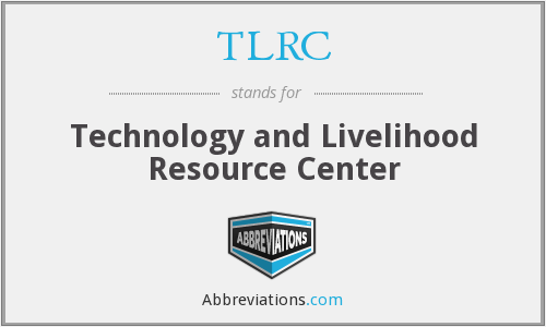 What does TLRC stand for?