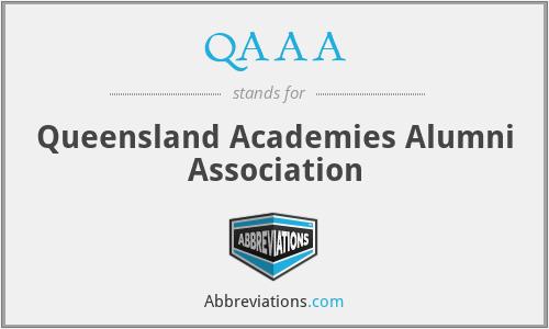 QAAA - Queensland Academies Alumni Association