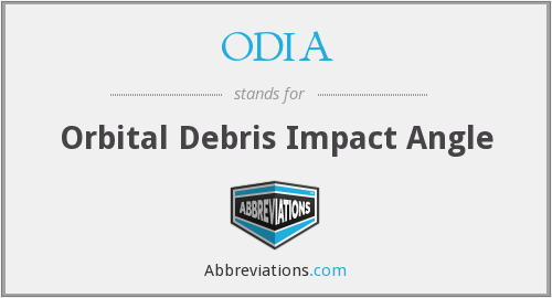 What does ODIA stand for?