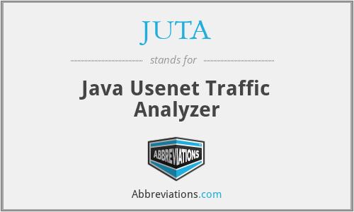 JUTA - Java Usenet Traffic Analyzer