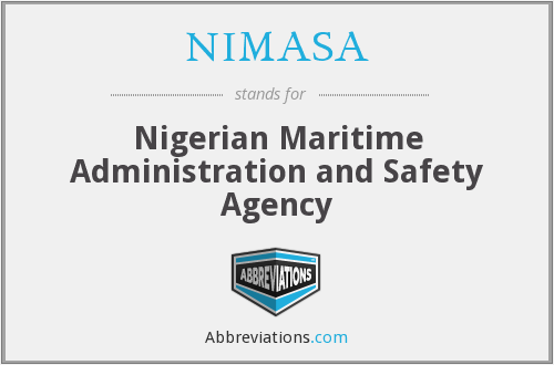 NIMASA - Nigerian Maritime Administration and Safety Agency