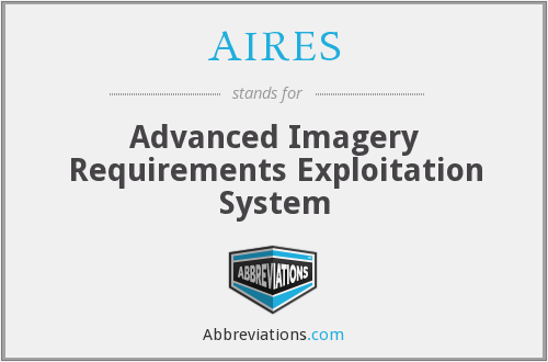 AIRES - Advanced Imagery Requirements Exploitation System