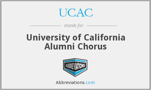UCAC - University of California Alumni Chorus