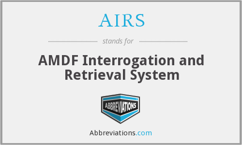 AIRS - AMDF Interrogation and Retrieval System