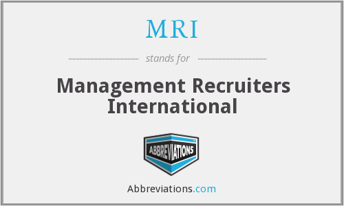 MRI - Management Recruiters International