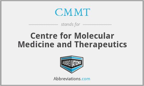 CMMT - Centre for Molecular Medicine and Therapeutics