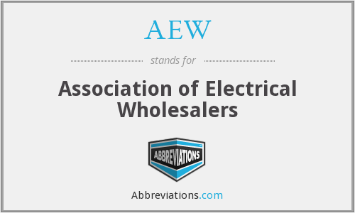 AEW - Association of Electrical Wholesalers