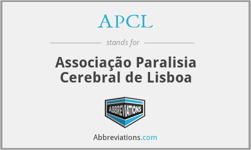 APCL - Associação Paralisia Cerebral de Lisboa