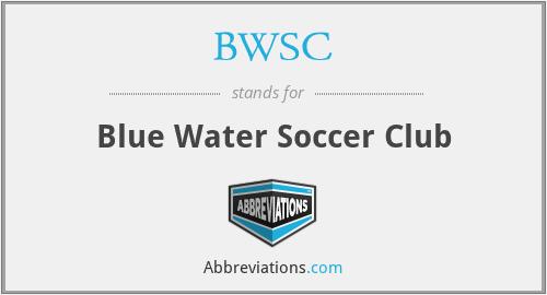 BWSC - Blue Water Soccer Club