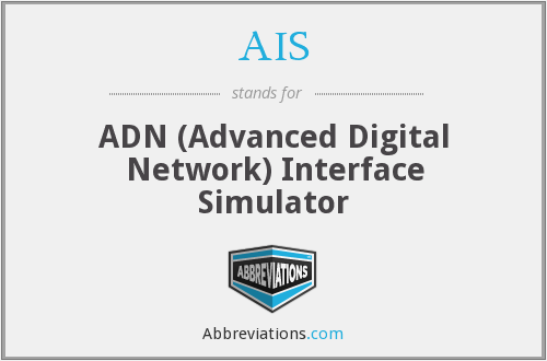 AIS - ADN Interface Simulator